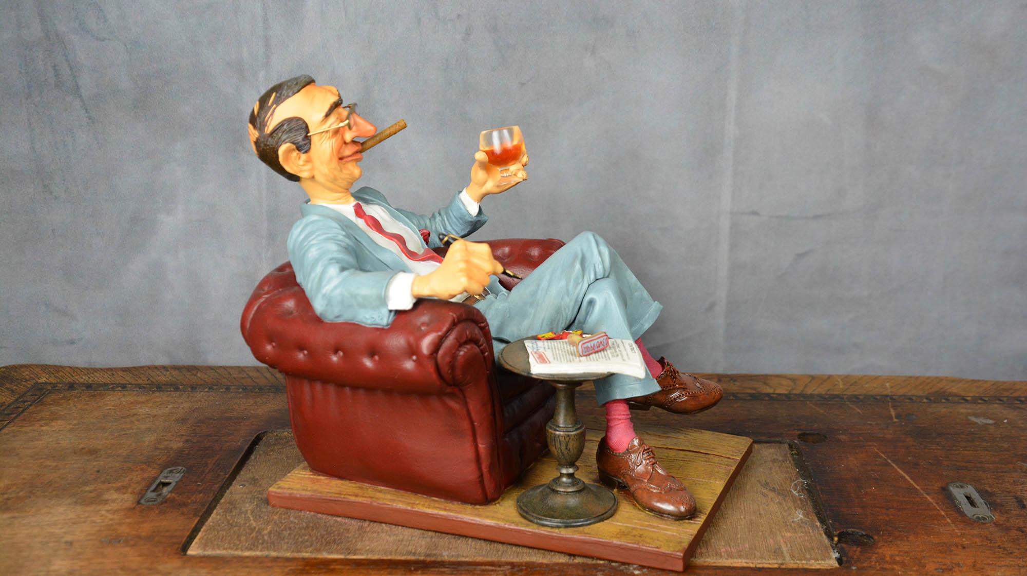 boutique figurine piece artisanale personnage boss parodie