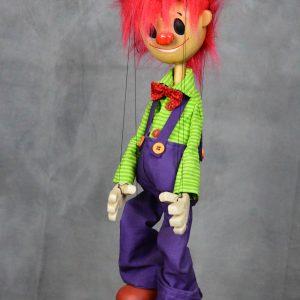 marionnette artisanale clown