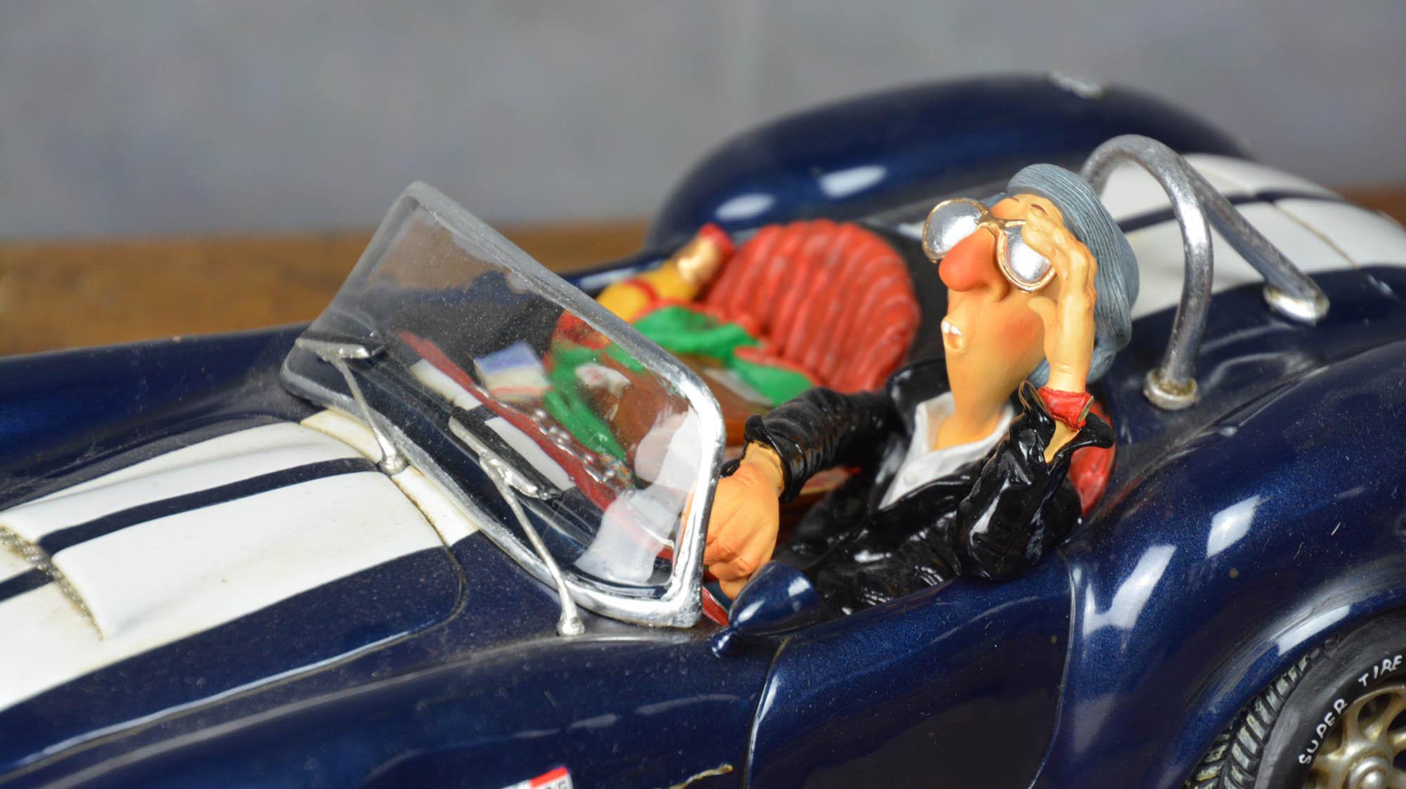 boutique figurine piece artisanale vehicule cobra parodie