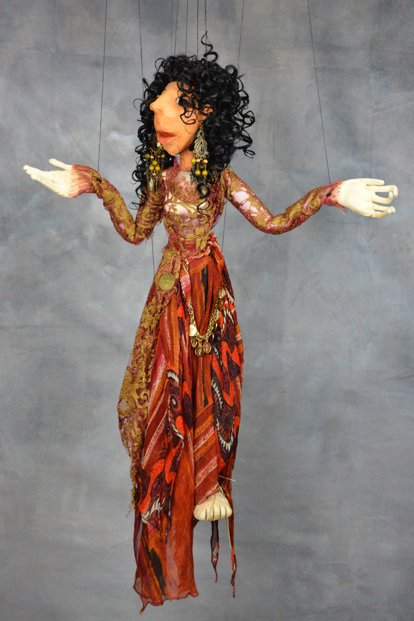 marionnette piece unique esmeralda
