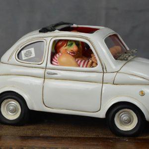 boutique figurine piece artisanale vehicule fiat parodie