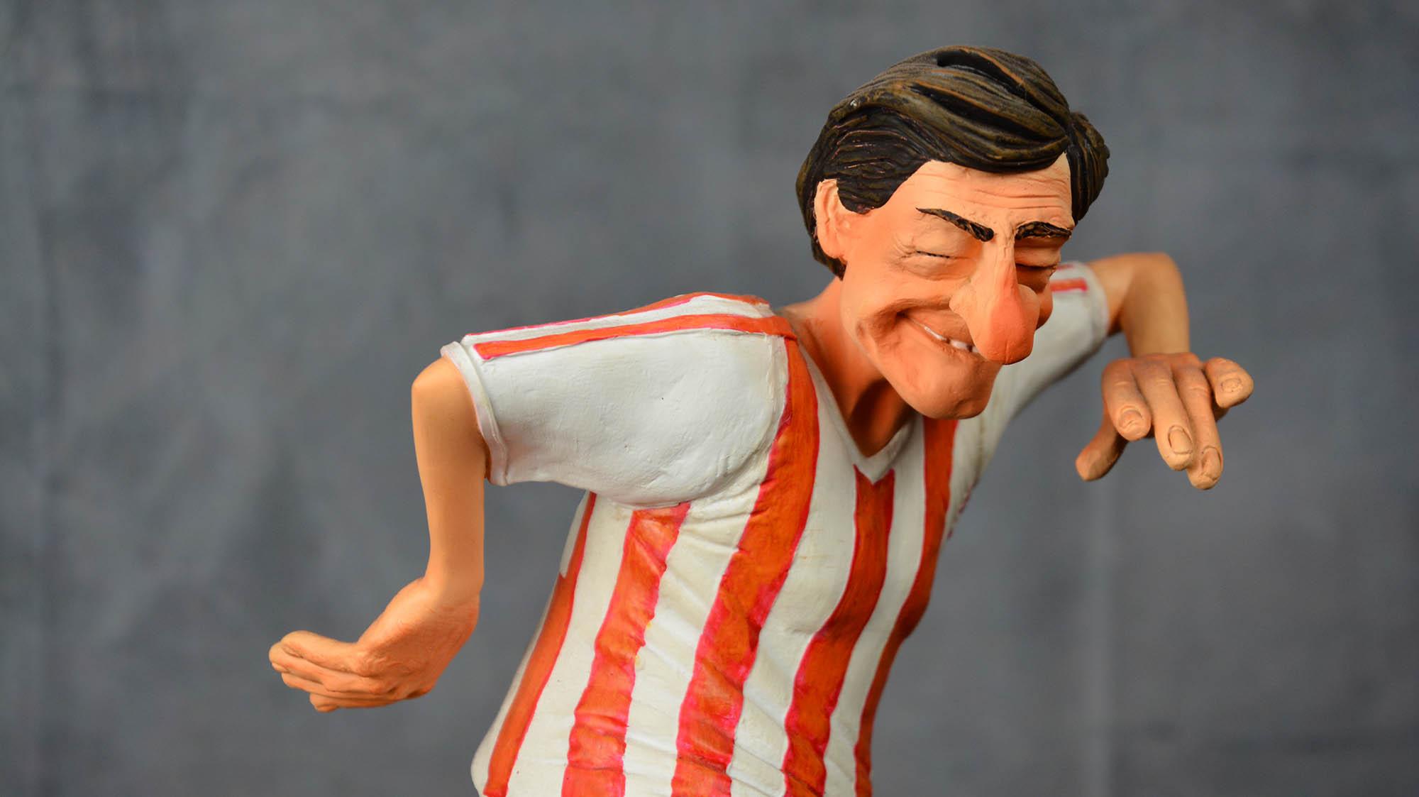boutique figurine piece artisanale personnage footeux parodie