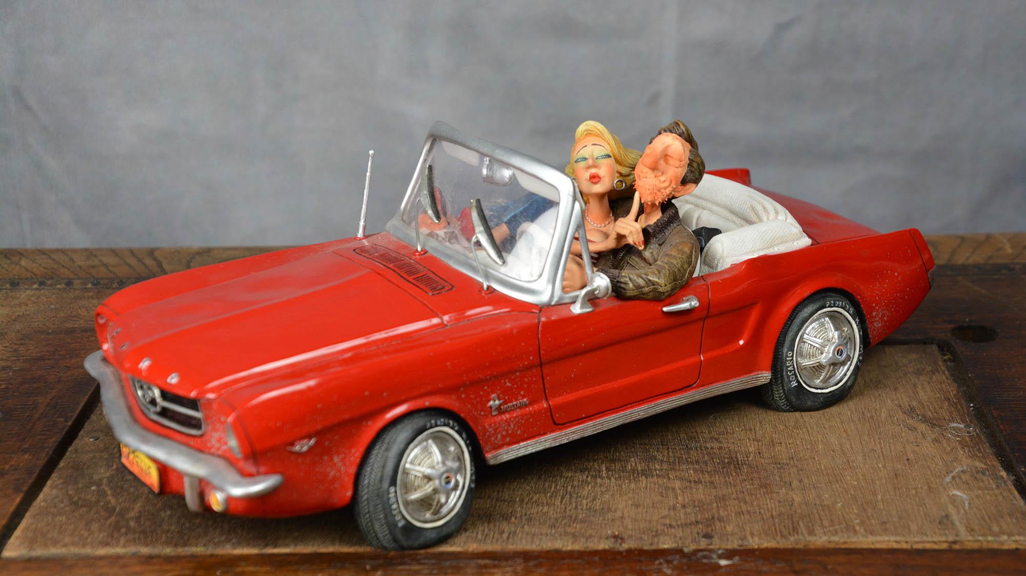 boutique figurine piece artisanale vehicule ford parodie