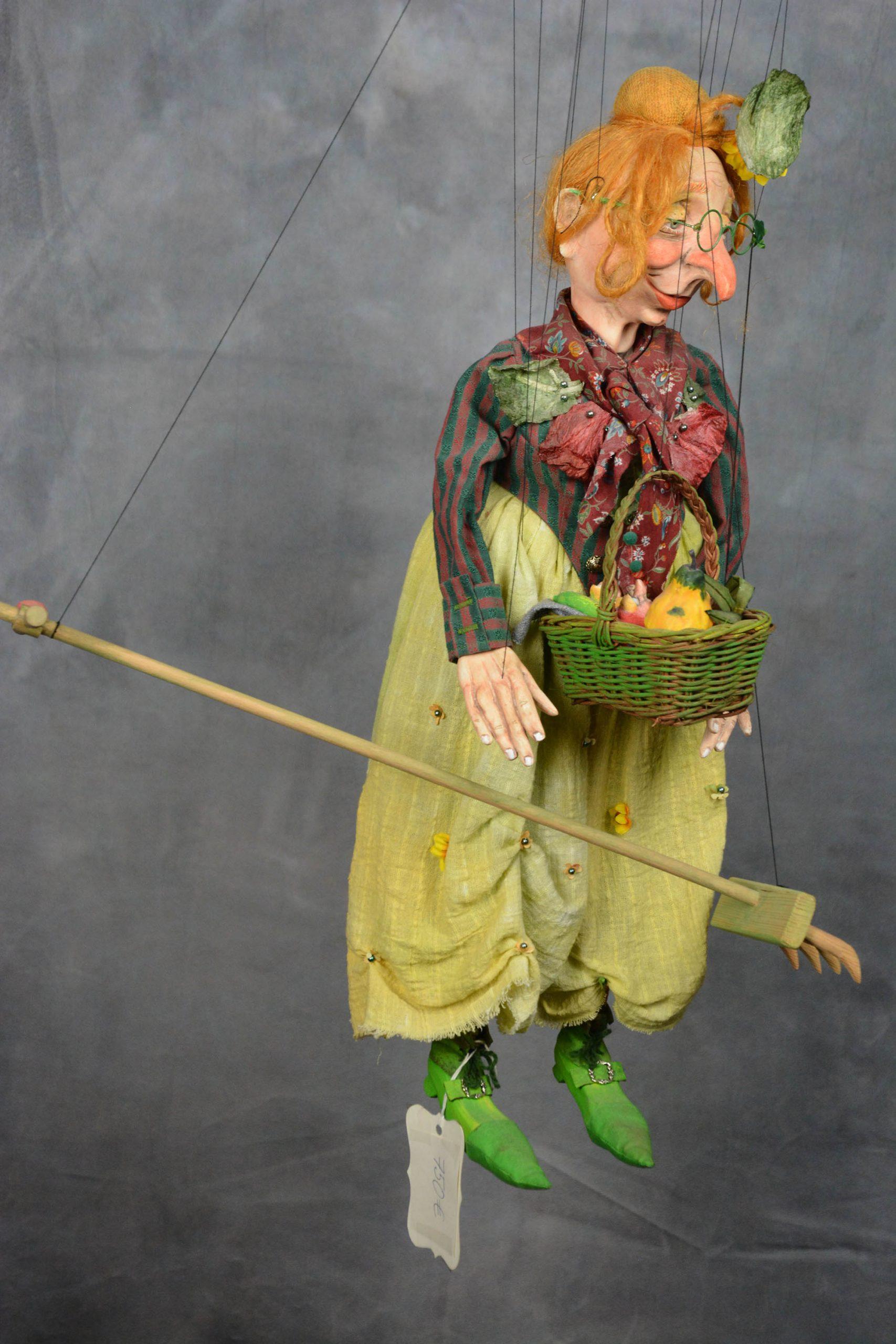 marionnette piece unique jardiniere