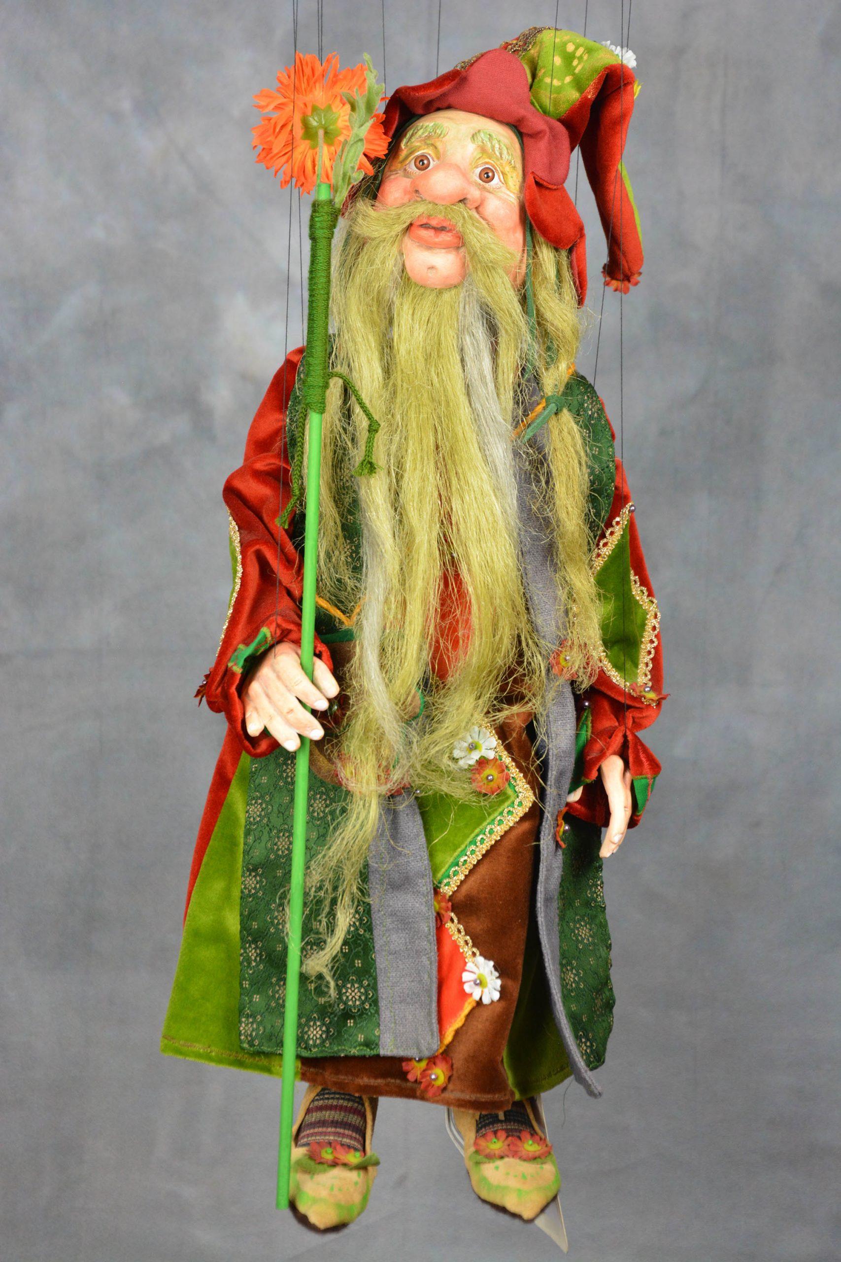 marionnette piece unique magicien