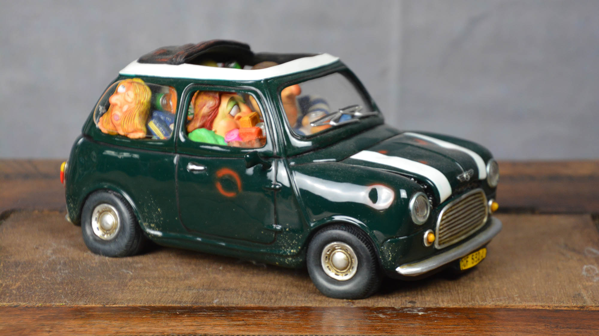 boutique figurine piece artisanale vehicule mini parodie