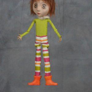 marionnette artisanale garcon