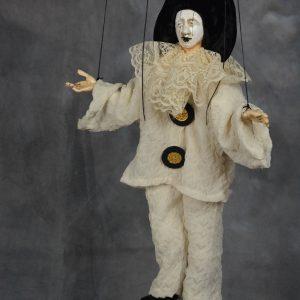 marionnette artisanale pierrot