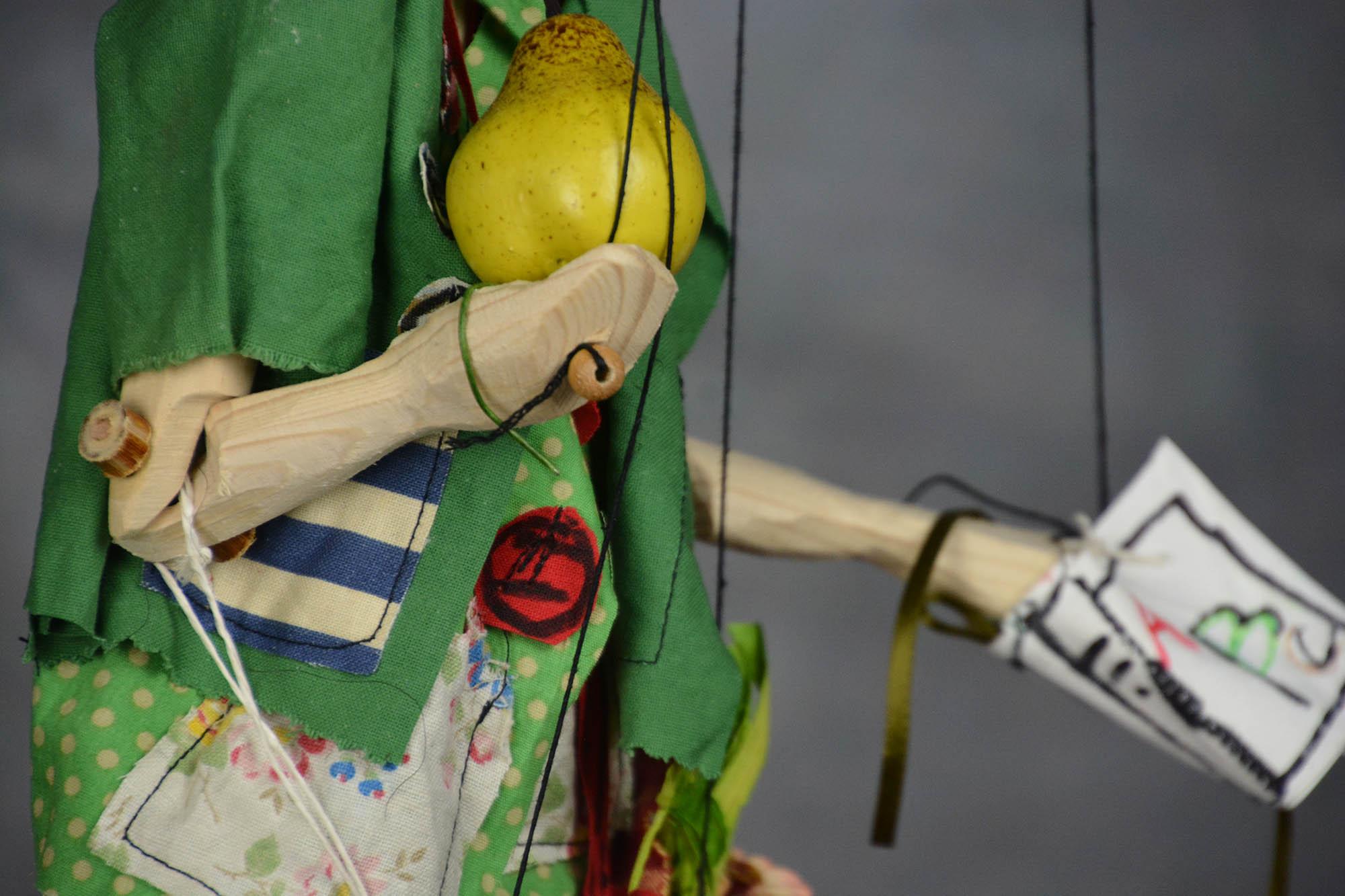 marionnette piece unique pinocchio