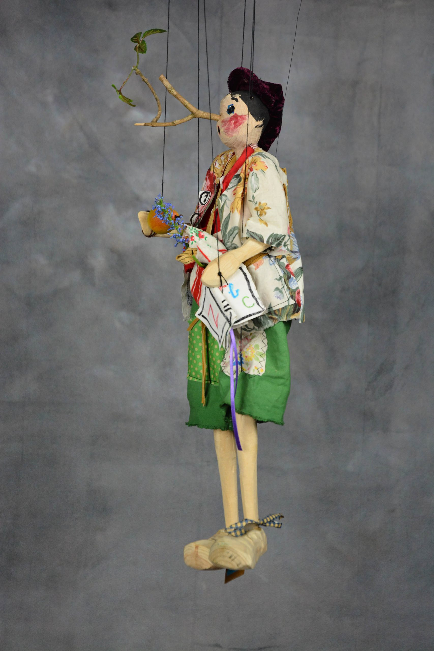 marionnette piece unique pinocchio