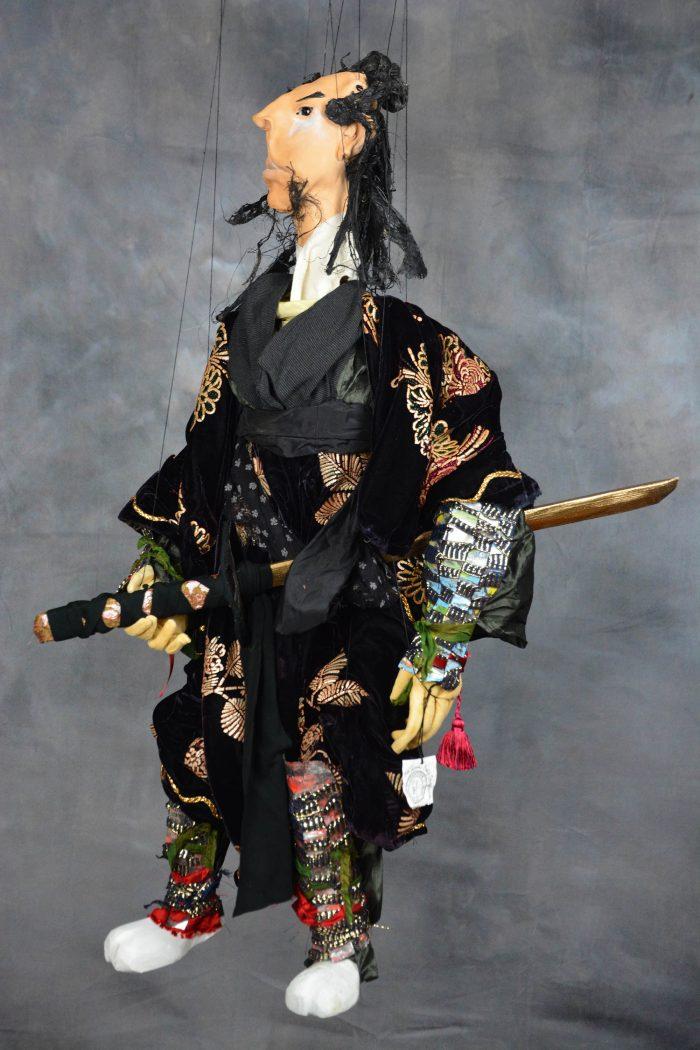 boutique de marionnette piece unique samourai