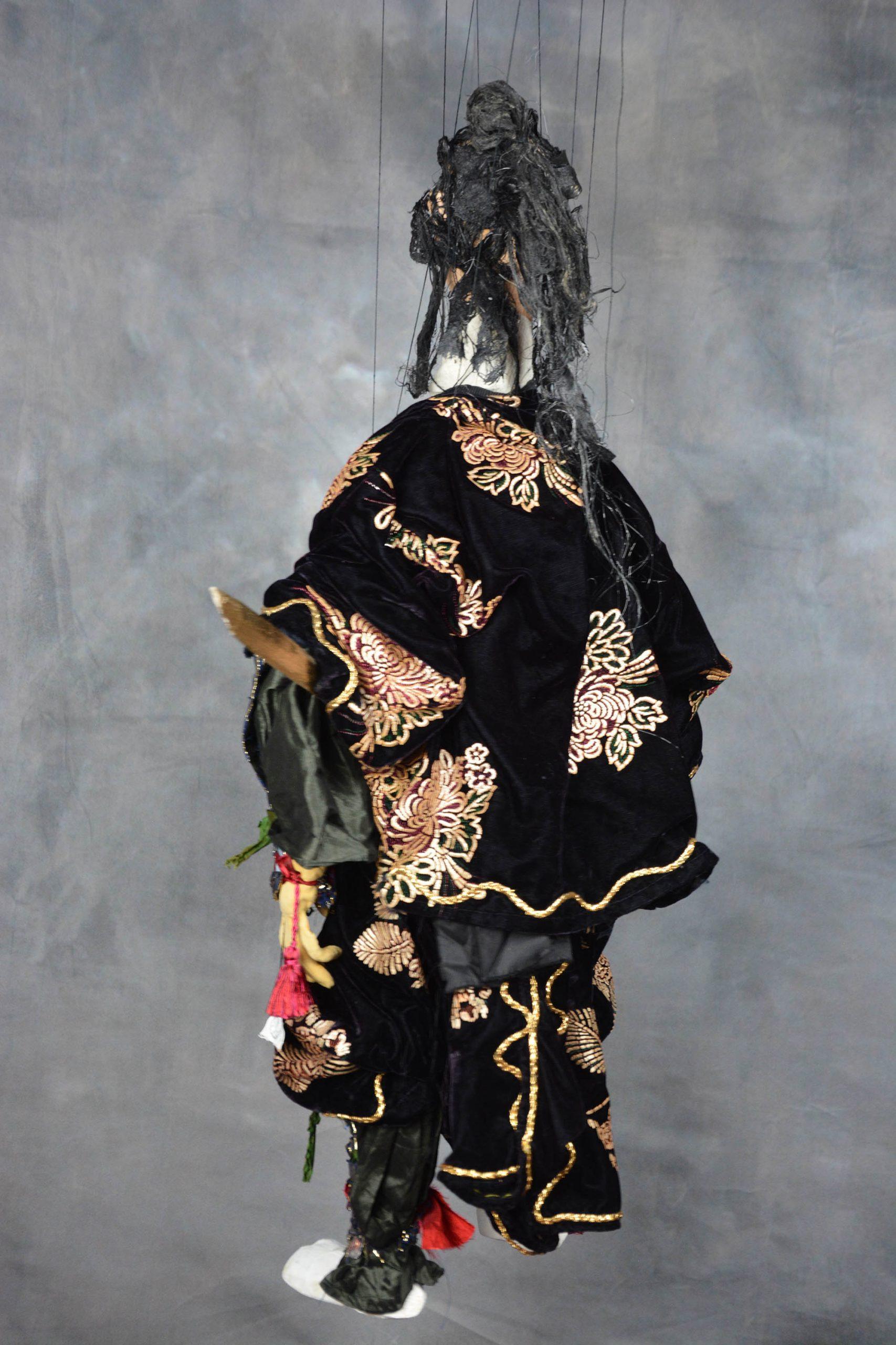 marionnette piece unique samourai