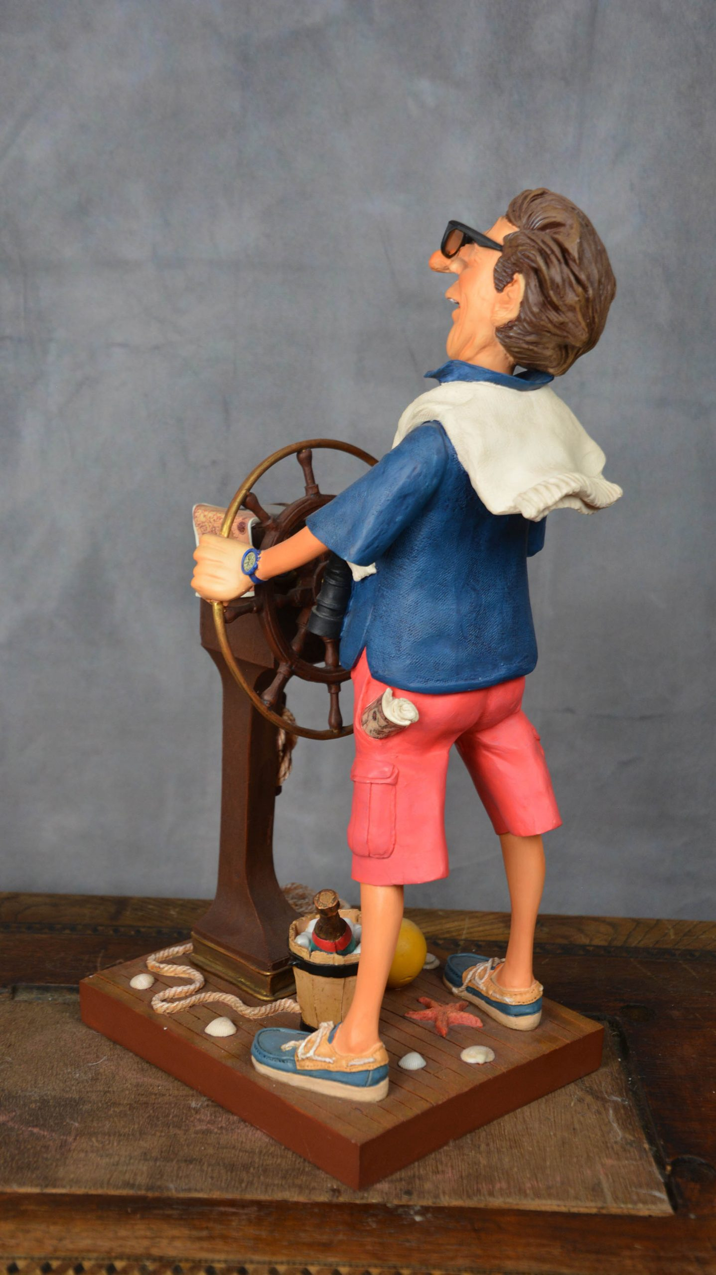 boutique figurine piece artisanale skipper parodie
